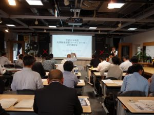 札幌映像撮影コーディネーター認定講習会の写真1